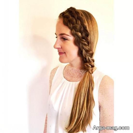 بافت مو زنانه برای جلوی سر