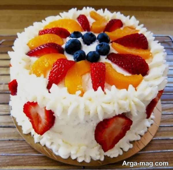 تزیین کیک خانگی با ایده های جذاب