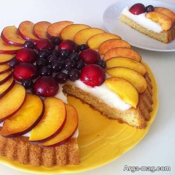 تزیین کیک خانگی با ایده های شیک