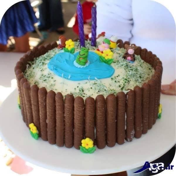 تزیین کیک زیبا و جذاب برای کودکان