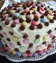 تزیین کیک خانگی جدید و متفاوت با ژله و خامه
