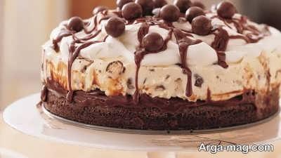 دستور تهیه کیک بستنی