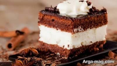 نحوه ساخت کیک بستنی