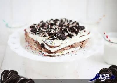 روش تهیه کیک بستنی خوشمزه