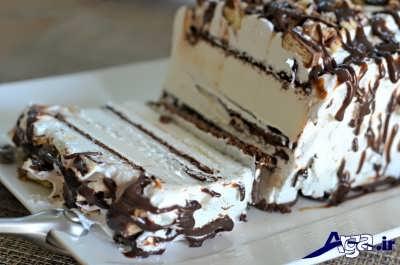 دسر کیک بستنی
