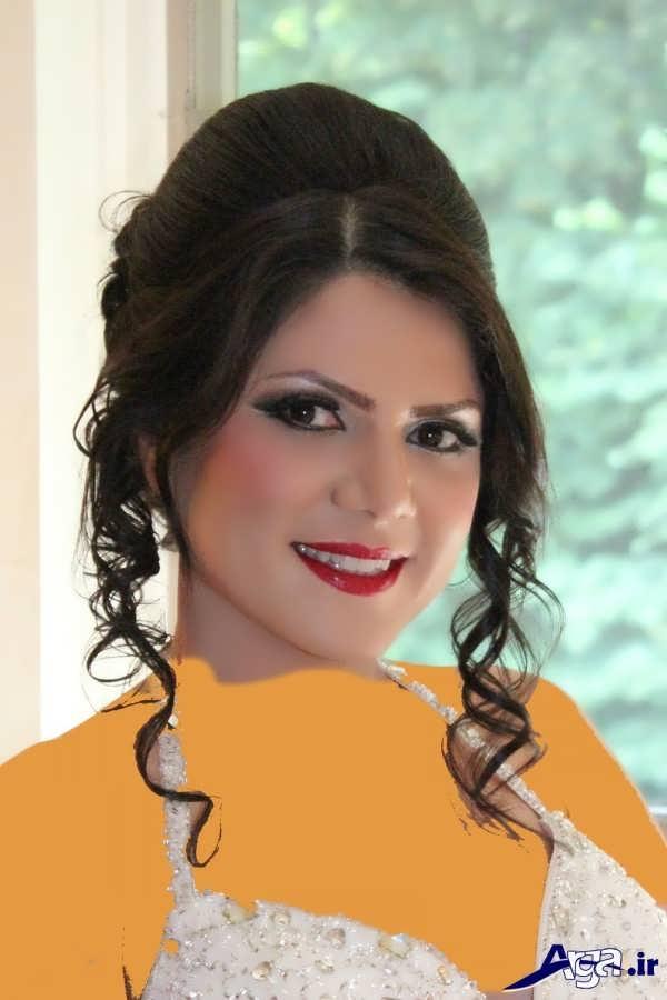 مدل مو و آرایش عروس ایرانی