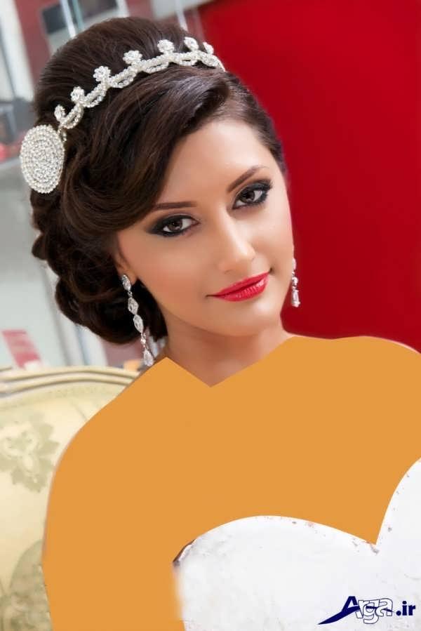 مدل آرایش عروس ایرانی