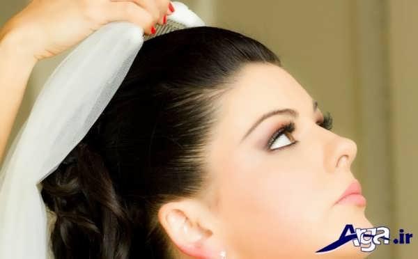 انواع مدل های زیبا و شیک آرایش عروس ایرانی