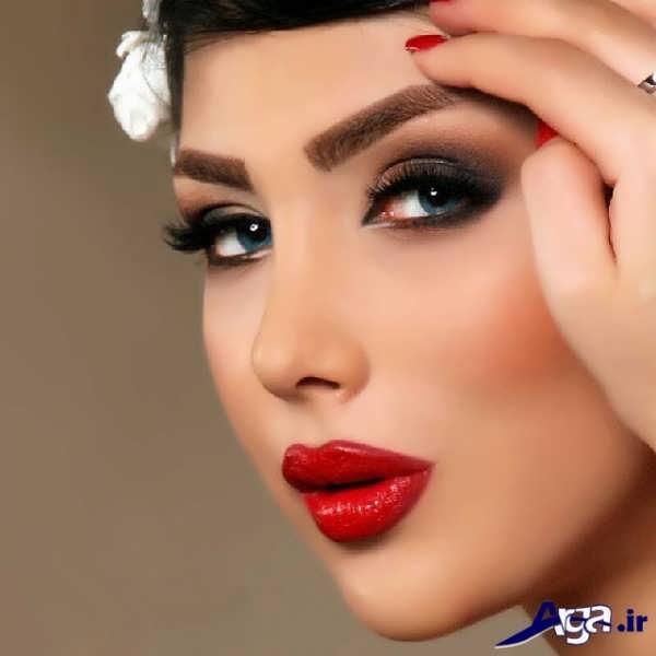 مدل سایه چشم زیبا برای عروس ایرانی