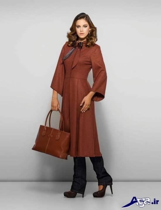 مدل مانتو فانتزی با طرح یقه پاپیونی