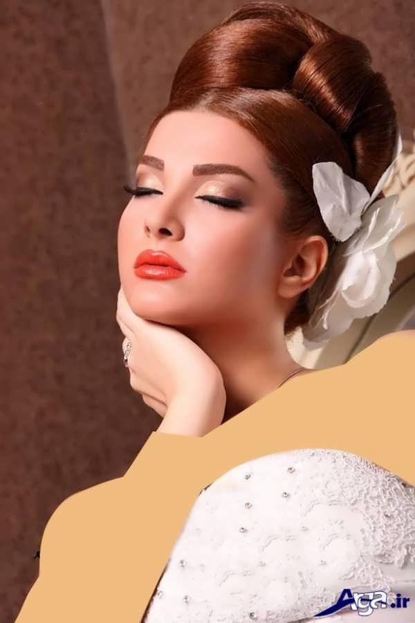 شینیون موی عروس ایرانی 2016