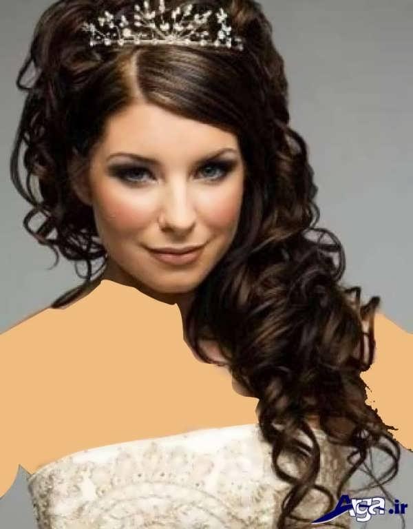 مدل موی عروس ایرانی باز
