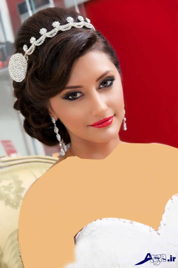 شینیون موی عروس ایرانی