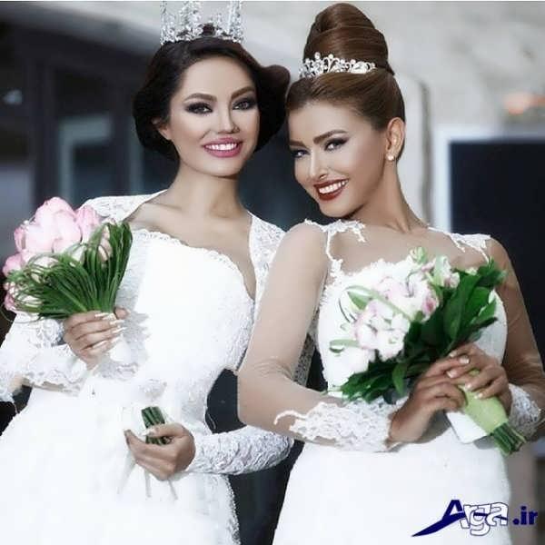 مدل های متنوع شینیون موی عروس ایرانی