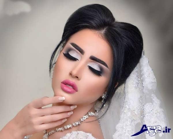 سایه چشم زیبا عروس