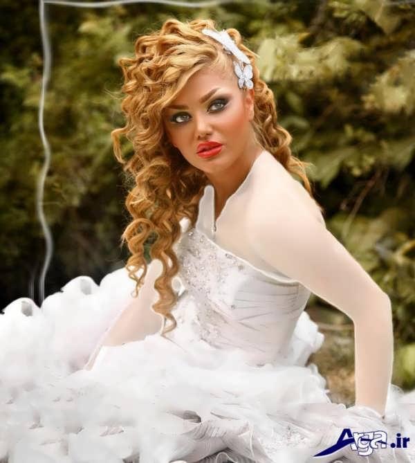آرایش لایت عروس جدید و شیک