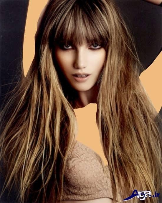 مدل مو دخترانه با مدلی جدید و فانتزی