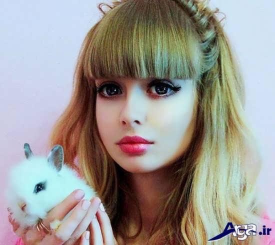مدل موی عروسکی دخترانه