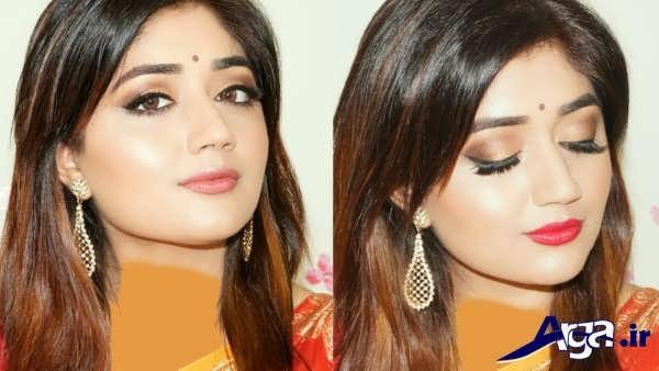 میکاپ هندی دخترانه