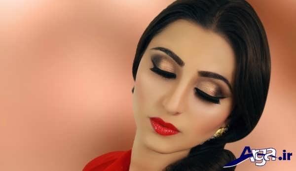 آرایش زنانه به سبک زیبا و جذاب هندی