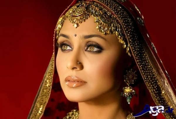 آرایش هندی زنانه زیبا