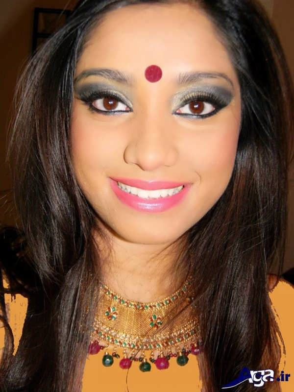 میکاپ هندی برای مجالس و مهمانی ها