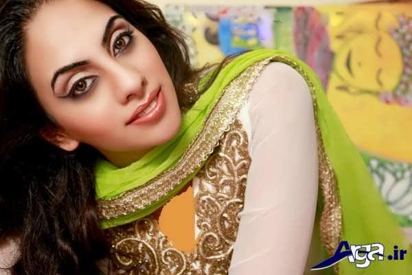 مدل های متنوع آرایش هندی زنانه و دخترانه
