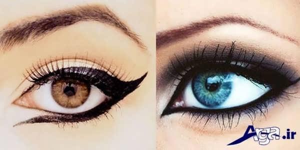 خط چشم مناسب چشم های ریز