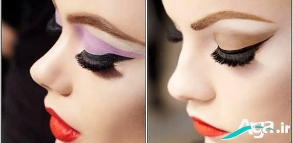 مدل ساده سایه چشم زنانه