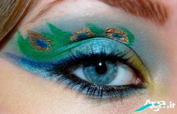 مدل های متنوع آرایش چشم