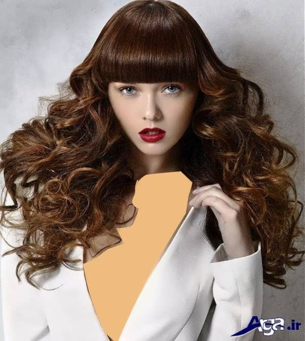 مدل مو برای موهای فر
