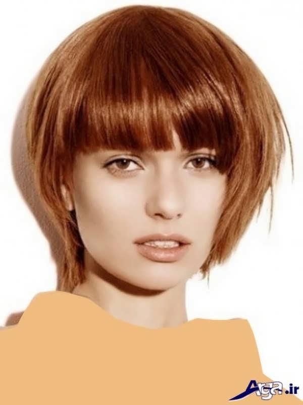 مدل کوتاهی مو به شکل چتری