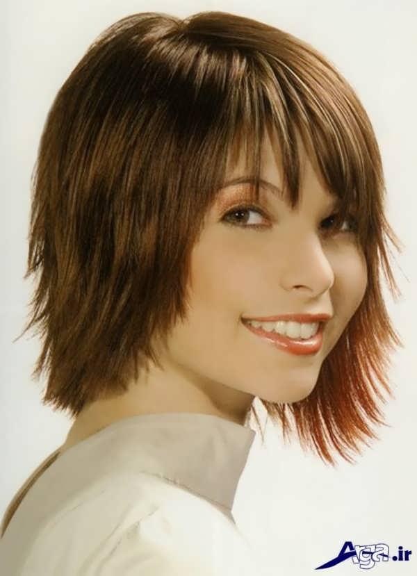 مدل مو کوتاه چتری