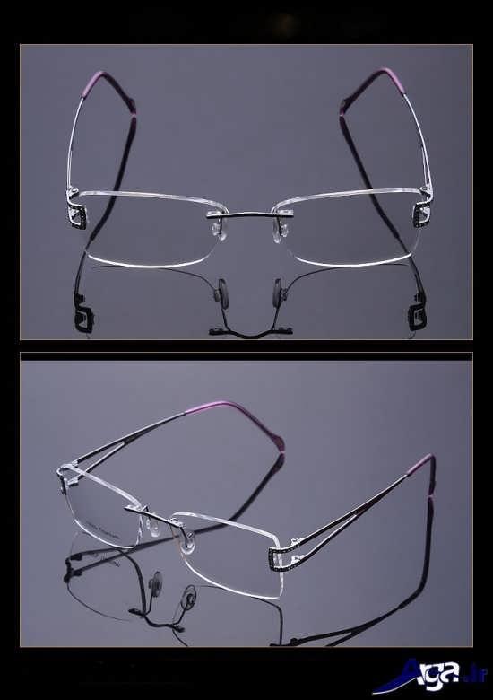عینک طبی با طرح های متفاوت