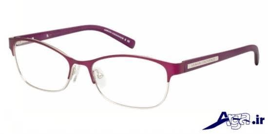 عینک طبی با رنگ شرابی