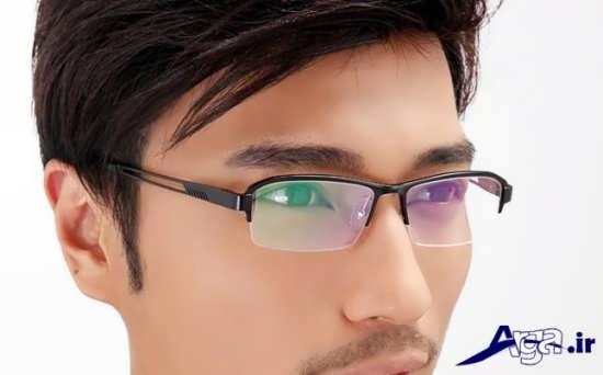عینک طبی با طرحی متفاوت