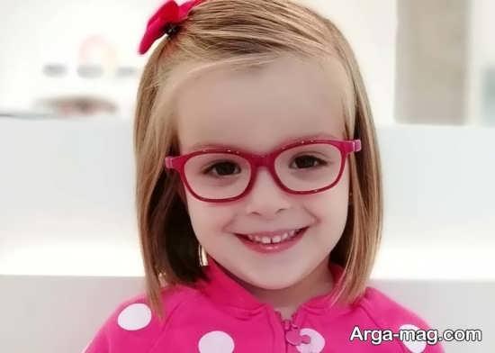مدلی جدید و زیبا از عینک طبی