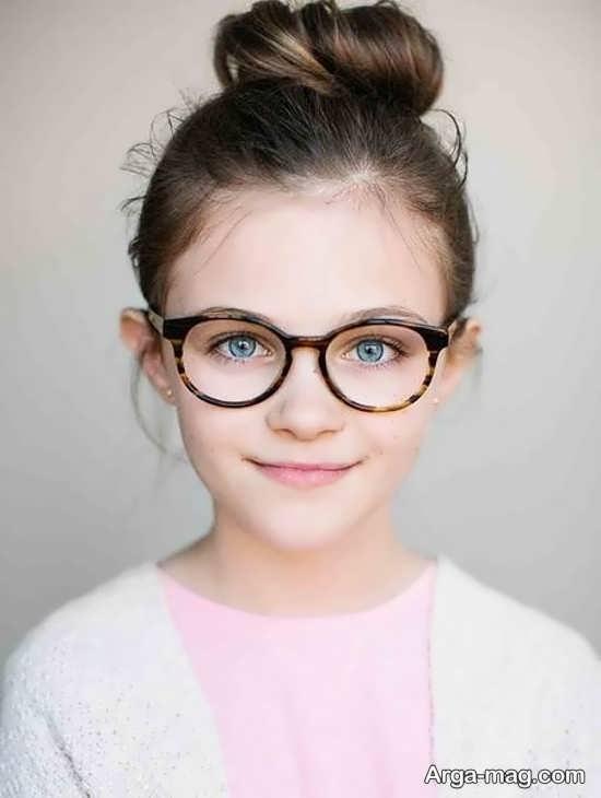 مدلی جذاب از عینک طبی