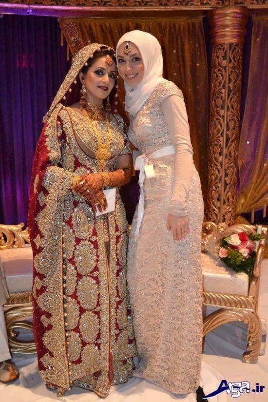 لباس نامزدی هندی پوشیده