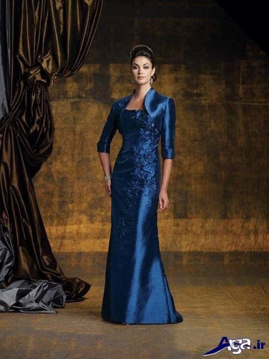 مدل لباس نامزدی رنگ تیره