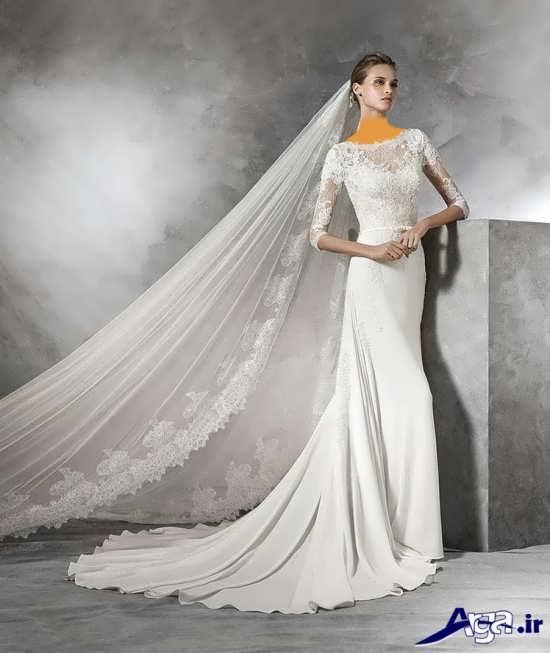 مدل لباس عروس 2016 با تن پوش شیک و زیبا