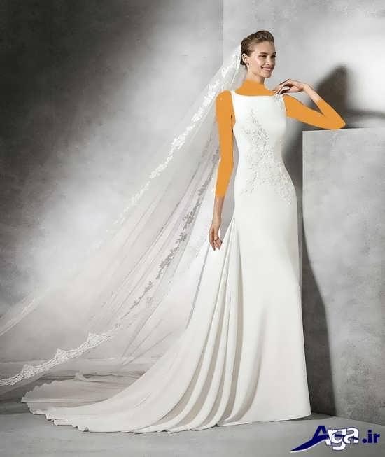 لباس عروس با مدل ساده 2016