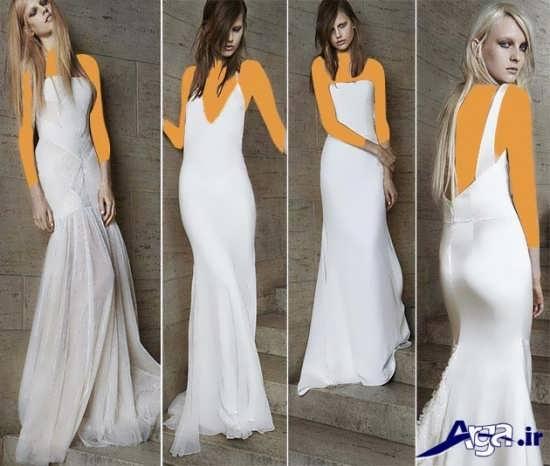 مدل های ساده لباس عروس