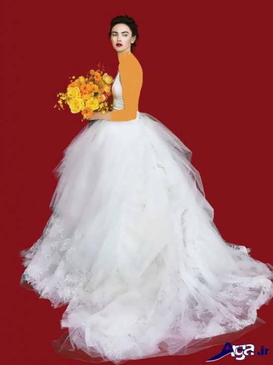 لباس عروس پفی 2016