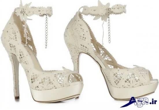 مدل های جدید و متنوع کفش ویژه عروس خانم ها