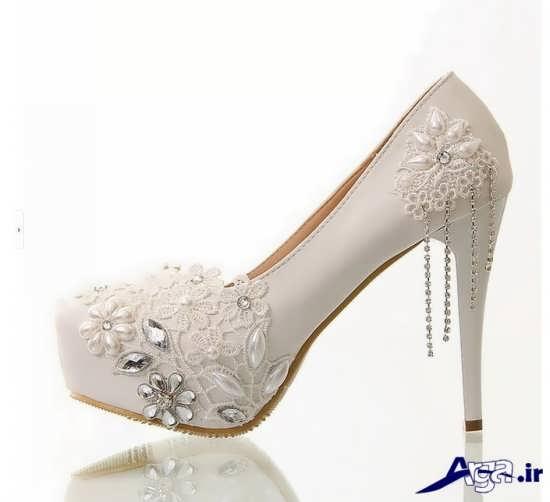 مدل کفش عروس یا طراحی منحصر به فرد