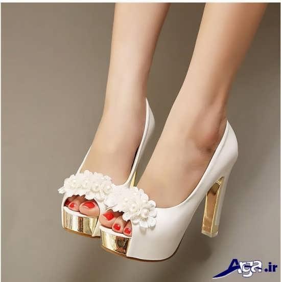 انواع مدل کفش عروس جدید و مدرن