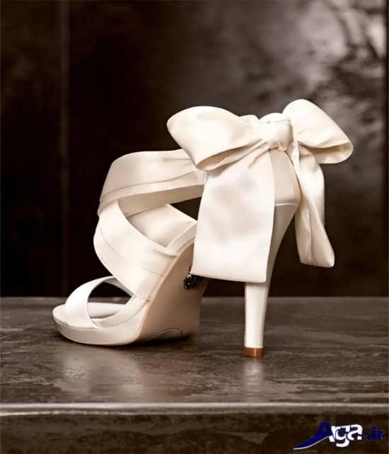 مدل کفش تابستانی جدید و پاپیون دار عروس