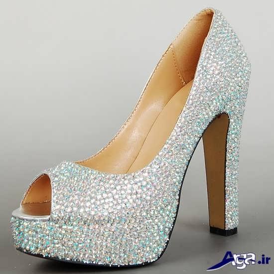 انواع مدل های جدید کفش عروس
