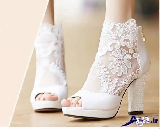 مدل های کفش عروس با طراحی های مدرن و زیبا